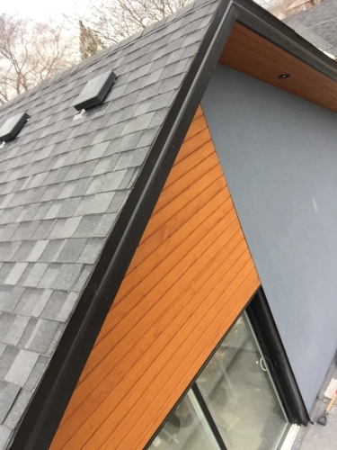Maibec soffits and siding