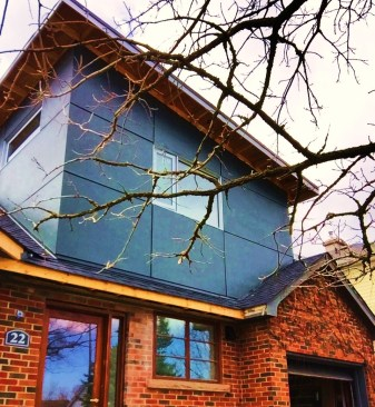 Fit to size james hardie wall panel
