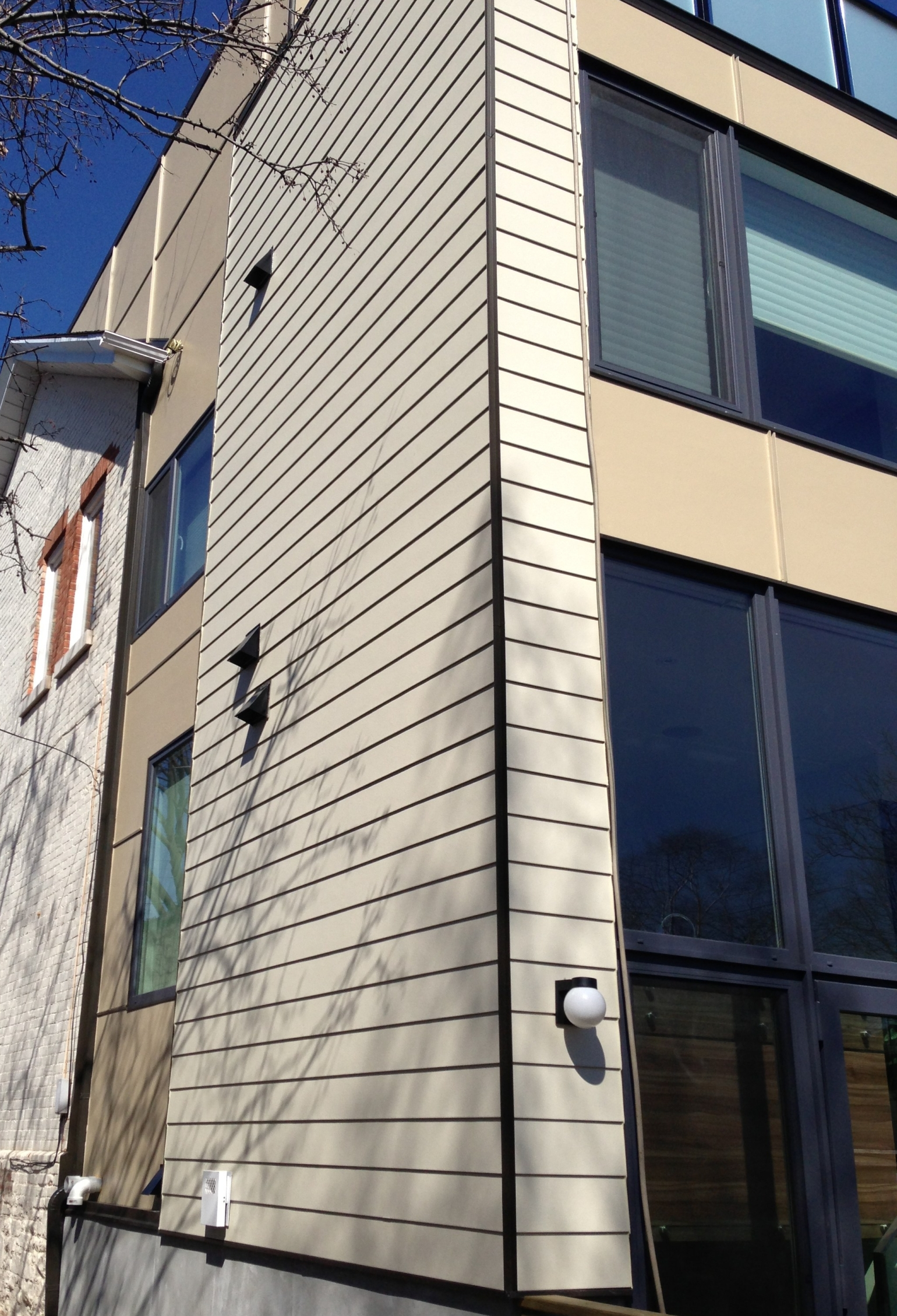 Siding wall James Hardie