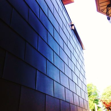 WM Zinc wall astra black