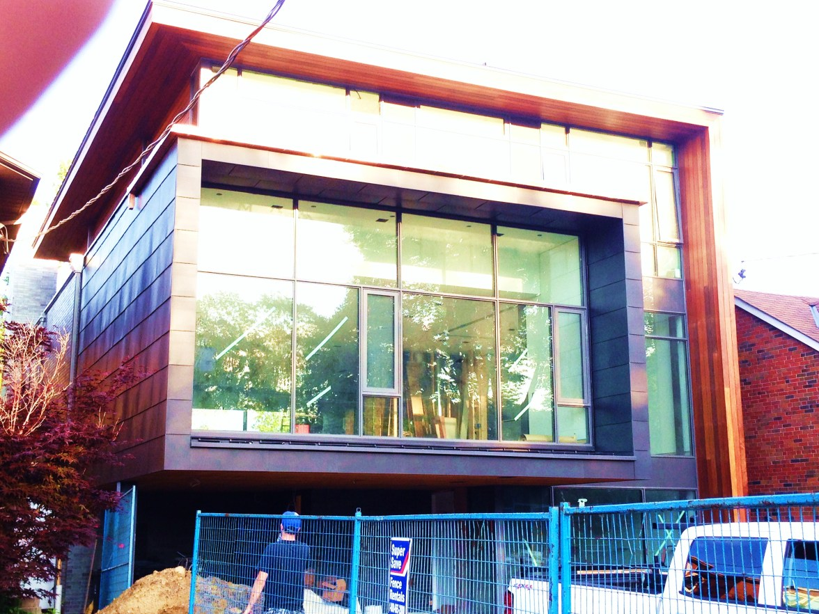 Super modern house in Toronto